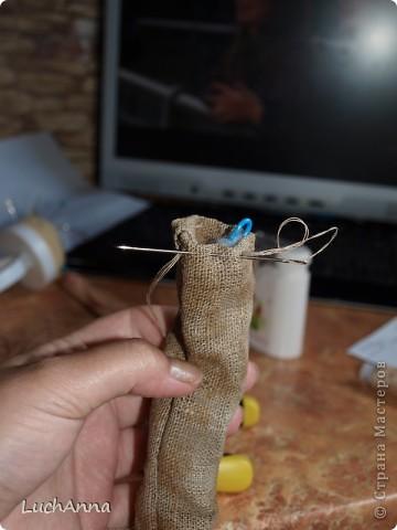 """Куклы, Мастер-класс Шитьё: МК по созданию куклы """"Замарашка"""". Часть 2 Капрон. Фото 88"""