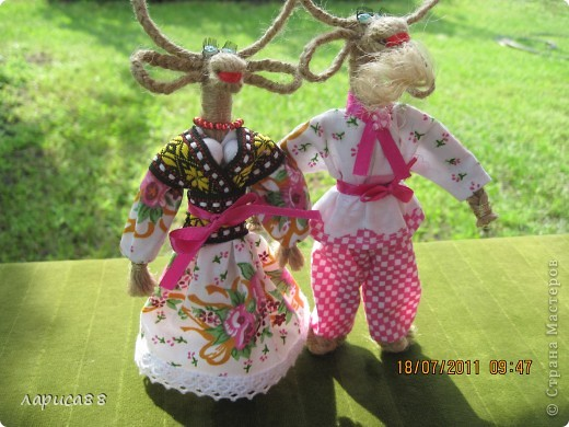 Оберег Плетение: Майка и Майкл, МК. Шпагат. Фото 2