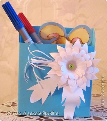 Мастер-класс Бумагопластика: Сувенирчики к 1 сентября(МК) Бумага Начало учебного года. Фото 5