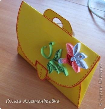 Мастер-класс Бумагопластика: Сувенирчики к 1 сентября(МК) Бумага Начало учебного года. Фото 4