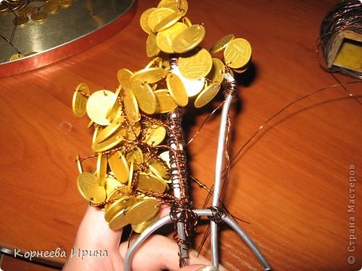 Еще один подарок для родственницы готов. Предлагаю всем мк этого дерева, может кому-то пригодится. Фото 14
