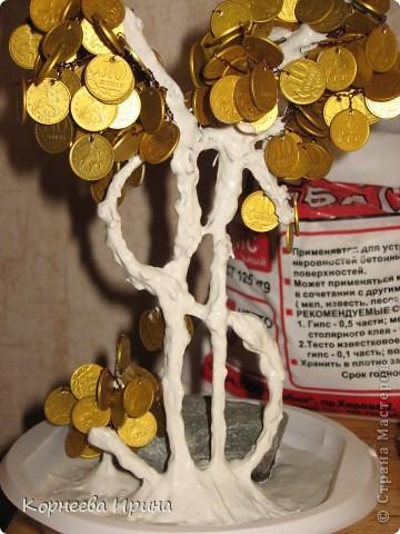 Еще один подарок для родственницы готов. Предлагаю всем мк этого дерева, может кому-то пригодится. Фото 18