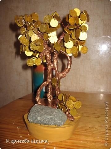 Еще один подарок для родственницы готов. Предлагаю всем мк этого дерева, может кому-то пригодится. Фото 20
