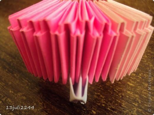 Мастер-класс, Педагогический опыт, Поделка, изделие Оригами модульное:  Мини-МК Как уменьшать модули Бумага, Клей Отдых. Фото 4
