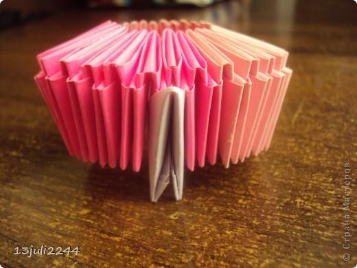 Мастер-класс, Педагогический опыт, Поделка, изделие Оригами модульное:  Мини-МК Как уменьшать модули Бумага, Клей Отдых. Фото 5
