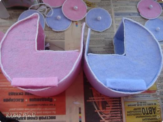 Мастер-класс Моделирование: МК колясочки- коробочки на свадьбу ( для денег) Свадьба. Фото 13
