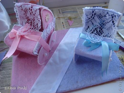 Мастер-класс Моделирование: МК колясочки- коробочки на свадьбу ( для денег) Свадьба. Фото 18