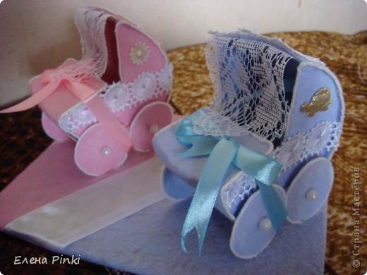 Мастер-класс Моделирование: МК колясочки- коробочки на свадьбу ( для денег) Свадьба. Фото 19