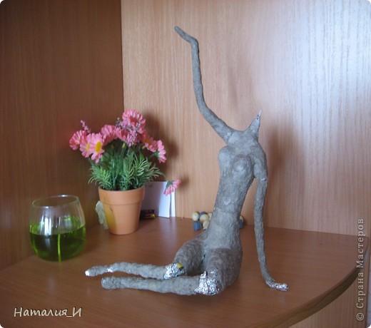 Закончила статуэтку давно, но все никак времени не хватало выложить. . Фото 3