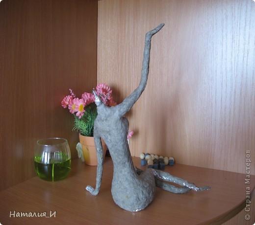Закончила статуэтку давно, но все никак времени не хватало выложить. . Фото 4