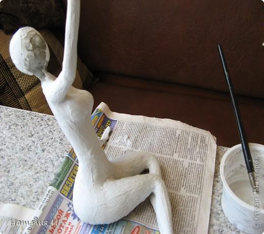 Закончила статуэтку давно, но все никак времени не хватало выложить. . Фото 6