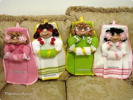 Игрушка, Интерьер, Куклы Шитьё: Полотенницы Капрон, Кружево, Тесьма, Ткань. Фото 1