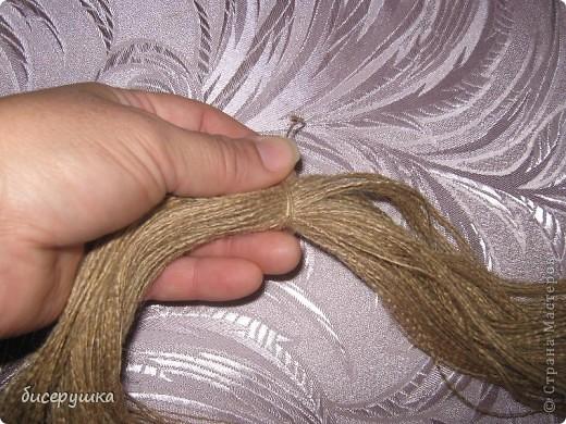 Сегодня я покажу МАСТЕР-КЛАСС по пошиву домовёнка с мешковины.... Фото 3