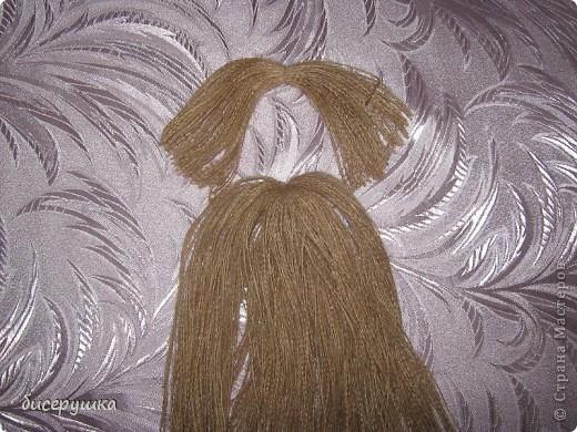 Сегодня я покажу МАСТЕР-КЛАСС по пошиву домовёнка с мешковины.... Фото 5