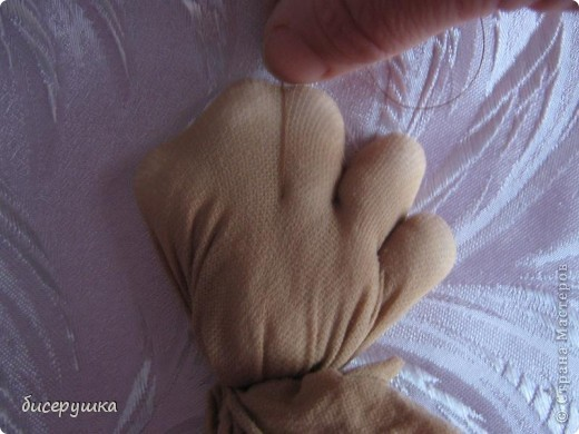 Сегодня я покажу МАСТЕР-КЛАСС по пошиву домовёнка с мешковины.... Фото 20