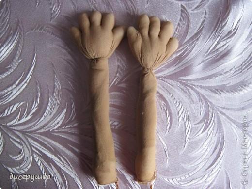 Сегодня я покажу МАСТЕР-КЛАСС по пошиву домовёнка с мешковины.... Фото 23
