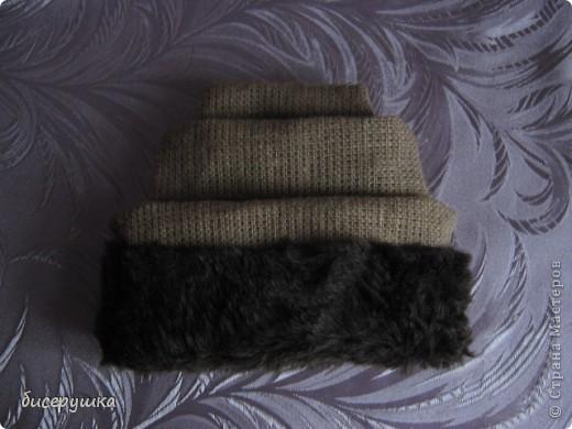 Сегодня я покажу МАСТЕР-КЛАСС по пошиву домовёнка с мешковины.... Фото 37