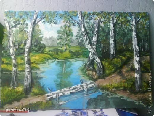 лесной пейзаж. Фото 1