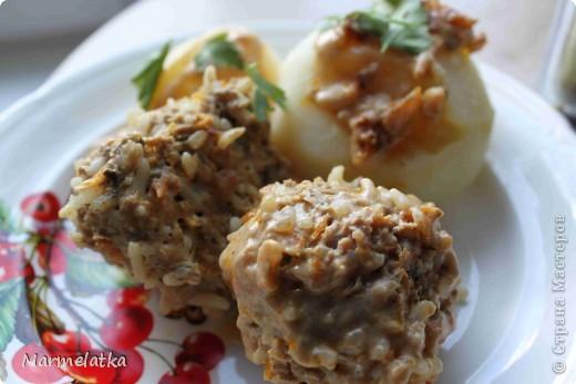 Кулинария Рецепт кулинарный: Мясные ёжики
