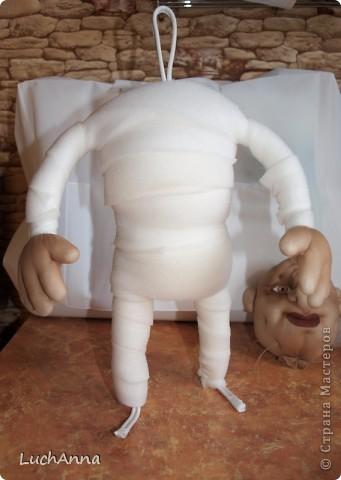 Куклы, Мастер-класс Шитьё: Кукольный каркас и тело (мини МК) Капрон, Поролон, Проволока. Фото 12