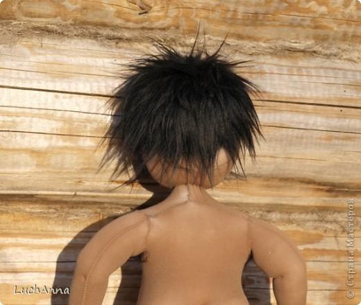 Куклы, Мастер-класс Шитьё: Кукольный каркас и тело (мини МК) Капрон, Поролон, Проволока. Фото 40