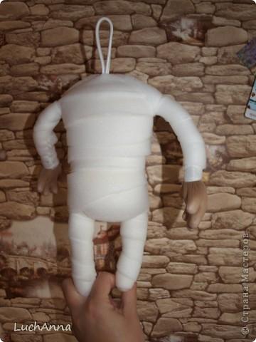 Куклы, Мастер-класс Шитьё: Кукольный каркас и тело (мини МК) Капрон, Поролон, Проволока. Фото 15