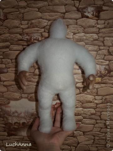 Куклы, Мастер-класс Шитьё: Кукольный каркас и тело (мини МК) Капрон, Поролон, Проволока. Фото 22