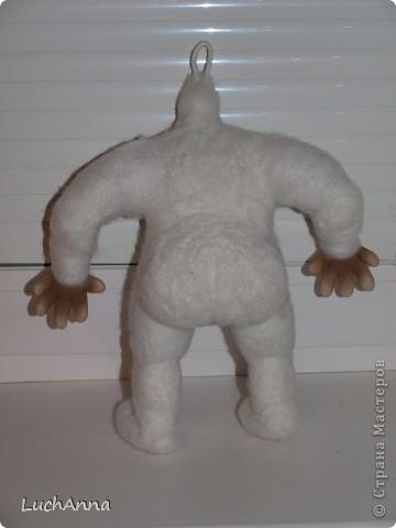 Куклы, Мастер-класс Шитьё: Кукольный каркас и тело (мини МК) Капрон, Поролон, Проволока. Фото 26