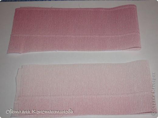 Мастер-класс, Свит-дизайн Бумагопластика: МК по изготовлению роз в свит -дизайне Бумага гофрированная, Бусинки. Фото 5