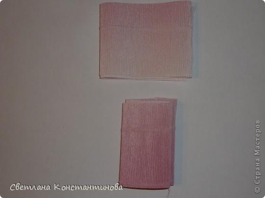 Мастер-класс, Свит-дизайн Бумагопластика: МК по изготовлению роз в свит -дизайне Бумага гофрированная, Бусинки. Фото 6