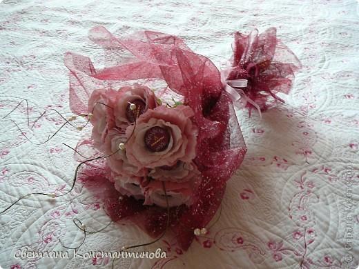 Мастер-класс, Свит-дизайн Бумагопластика: МК по изготовлению роз в свит -дизайне Бумага гофрированная, Бусинки. Фото 23