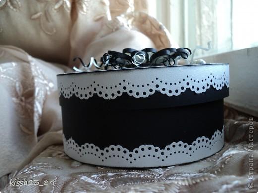 Поделка, изделие: Черно-Белое Бумага. Фото 5