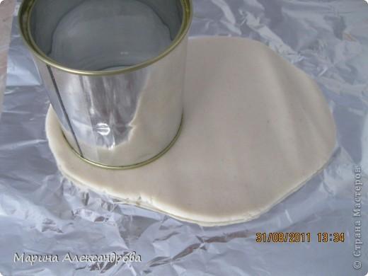 Мастер-класс Лепка: Ботинок...или карандашница?! Тесто соленое. Фото 5