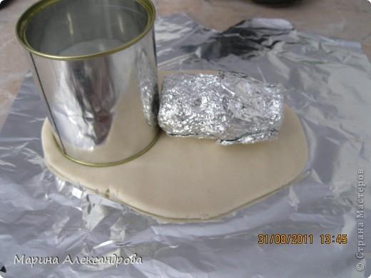 Мастер-класс Лепка: Ботинок...или карандашница?! Тесто соленое. Фото 6