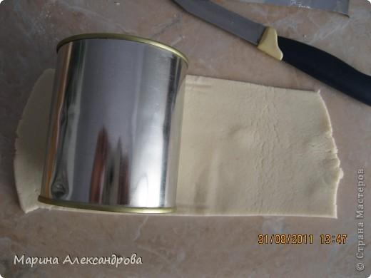 Мастер-класс Лепка: Ботинок...или карандашница?! Тесто соленое. Фото 7