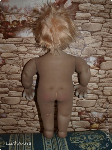 Куклы, Мастер-класс Шитьё: Утяжки на кукольном теле ( МК). Капрон. Фото 36