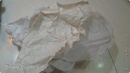 Мастер-класс: МК подставки под текстильную куклу. Бумага, Дерево, Картон, Салфетки. Фото 8