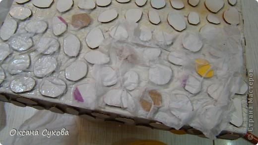 Мастер-класс: МК подставки под текстильную куклу. Бумага, Дерево, Картон, Салфетки. Фото 9