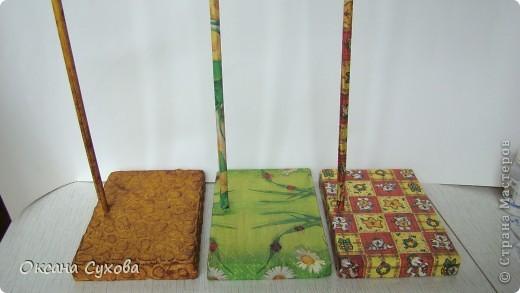 Мастер-класс: МК подставки под текстильную куклу. Бумага, Дерево, Картон, Салфетки. Фото 24