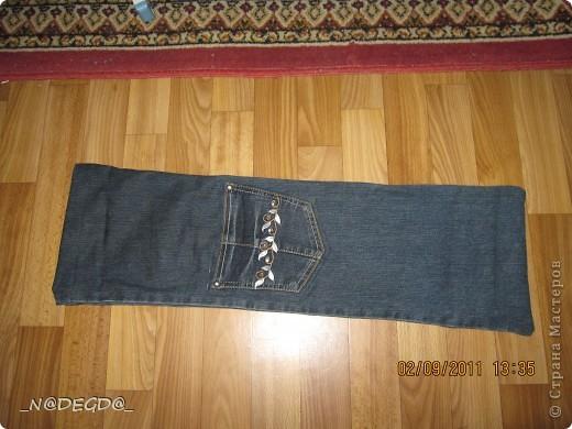 Чехол для шампуров из старых джинсов своими руками 30