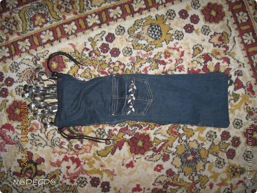 Чехол для шампуров из старых джинсов своими руками 6