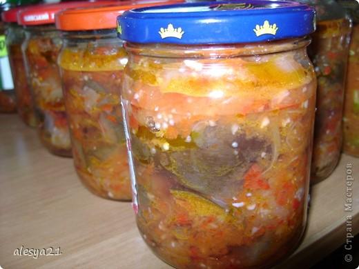 Кулинария Рецепт кулинарный: консервация Овощи, фрукты, ягоды. Фото 1