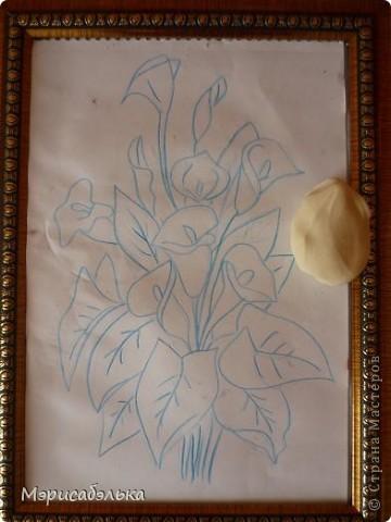 Мастер-класс Лепка: Каллы. Тесто соленое День рождения. Фото 2