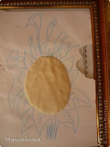 Мастер-класс Лепка: Каллы. Тесто соленое День рождения. Фото 27
