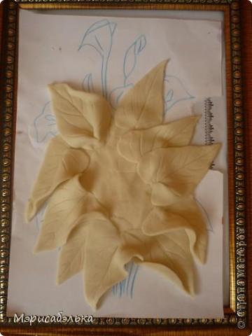 Мастер-класс Лепка: Каллы. Тесто соленое День рождения. Фото 29