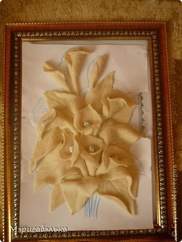 Мастер-класс Лепка: Каллы. Тесто соленое День рождения. Фото 31