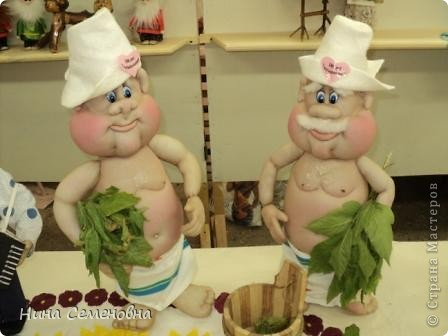 Куклы Шитьё: С легким паром!!! Капрон. Фото 1