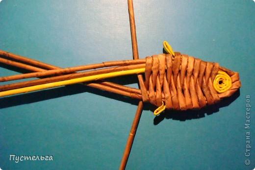 Мастер-класс, Поделка, изделие Плетение: Рыба, птица, зверь Бумага газетная. Фото 11
