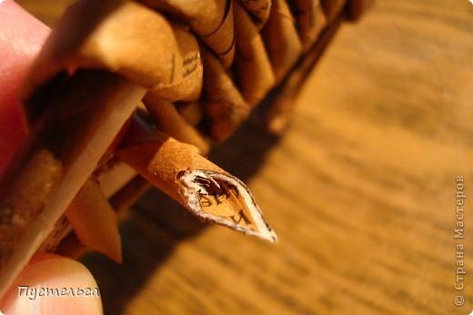 Мастер-класс, Поделка, изделие Плетение: Рыба, птица, зверь Бумага газетная. Фото 22