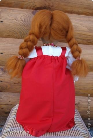 Куклы Шитьё: Марфушенька-душенька (кукла-грелка) Капрон. Фото 10